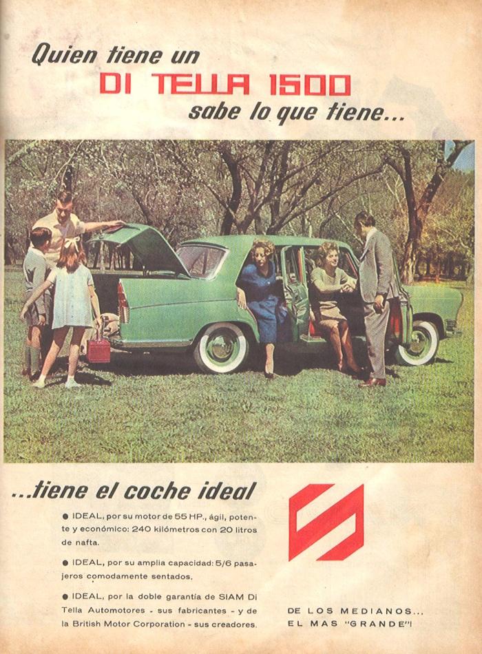 Publicidad Siam Di Tella 1960
