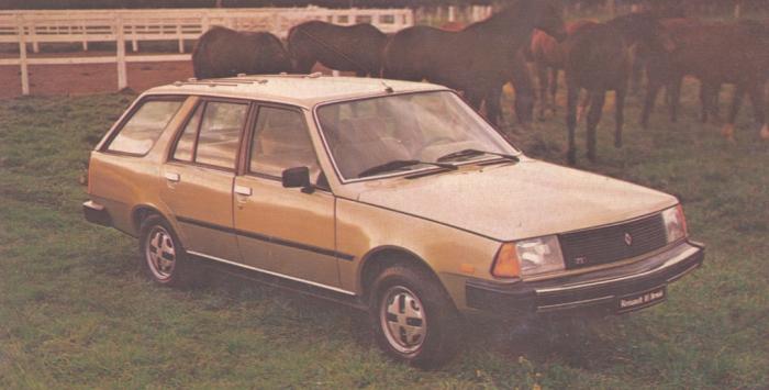 Renault 18 TX Break de 1981. Foto de la revista Su Auto de noviembre de 1981.