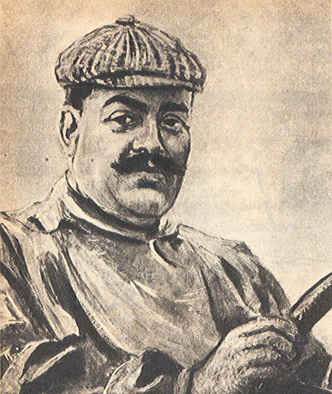 Vincenzo Lancia dibujo