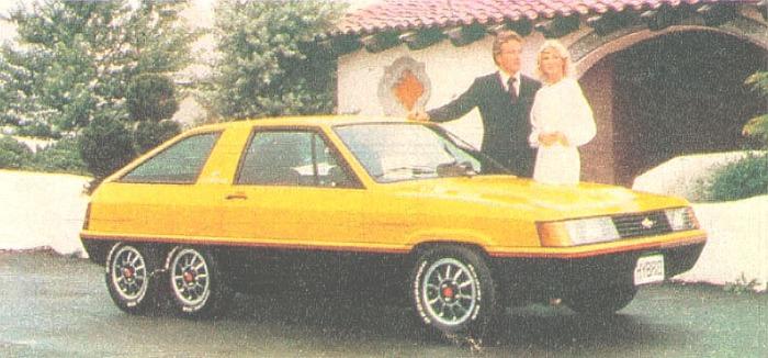 Perfil derecho del Hybrid de 1980 fabricado por Briggs & Stratton. La fotografía pertenece a la revista Parabrisas Corsa del 27 de febrero de 1980.