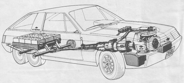 Transparencia del Hybrid de 1980 fabricado por Briggs & Stratton. La fotografía pertenece a la revista Parabrisas Corsa del 27 de febrero de 1980.