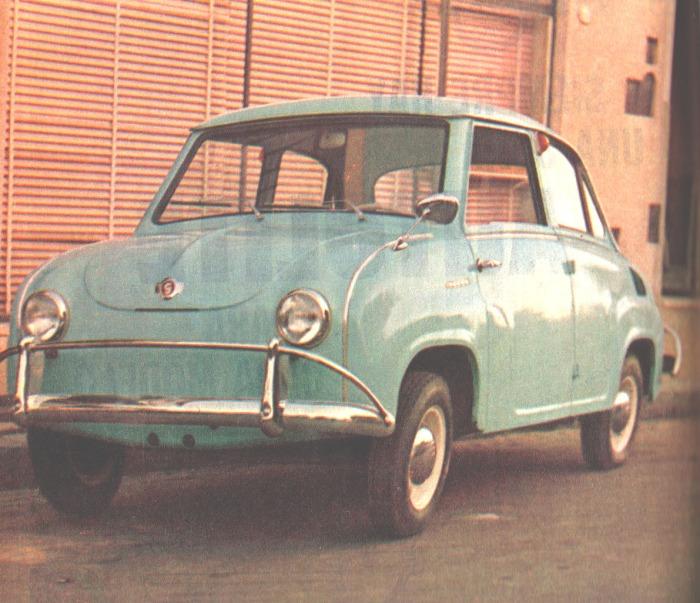 Isard T 400 de 1963 fabricado por Isard Argentina. La foto es de la revista Parabrisas, número 34, del mes de septiembre de 1963.