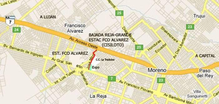 mapa Expo Auto Argentino