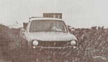 La Peugeot 504 pick-up de 1981 presentaba en abril de ese año. La fotografía es de la revista Su Auto número 17 del mes de  mayo de 1981.