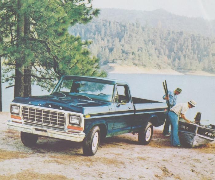 Ford Custom de 1979. Fotografía de un folleto de la empresa Ford Motor Company de julio de 1978.