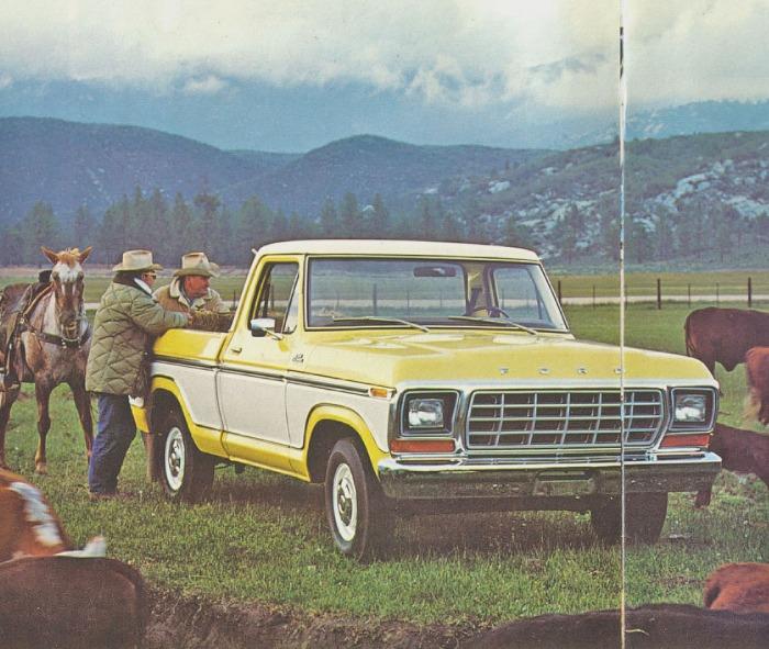 Ford Ranger de 1979. Fotografía de un folleto de la empresa Ford Motor Company de julio de 1978.