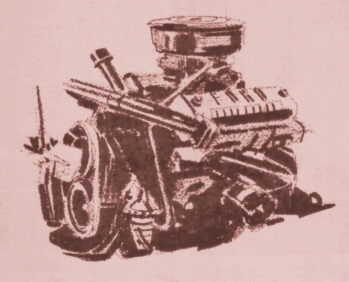 Motor Ford V8 292