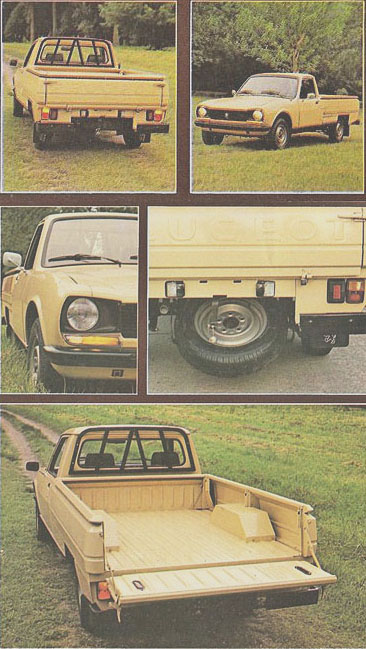 Peugeot 504 pick-up 1981