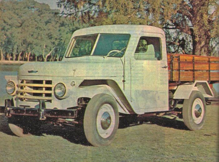 Rastrojero Diésel de 1963. Foto de la revista Parabrisas número 37 de diciembre de 1963.