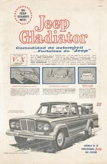 Publicidad Jeep Gladiator 1964