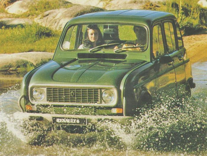Renault 4 S modelo 1981. Fotografía de un folleto de la empresa Renault Argentina.