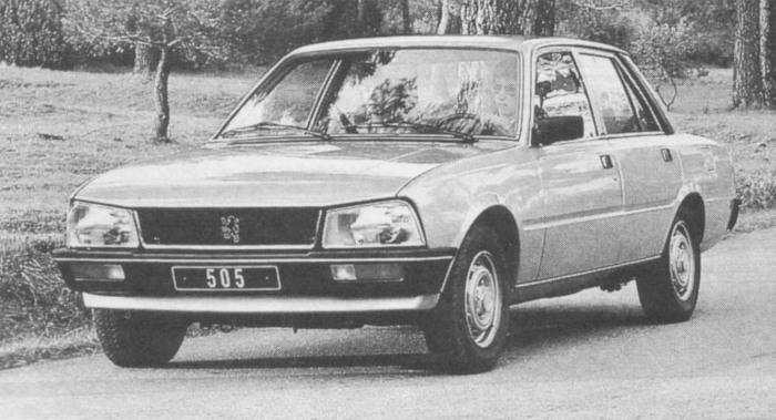 Peugeot 505 01