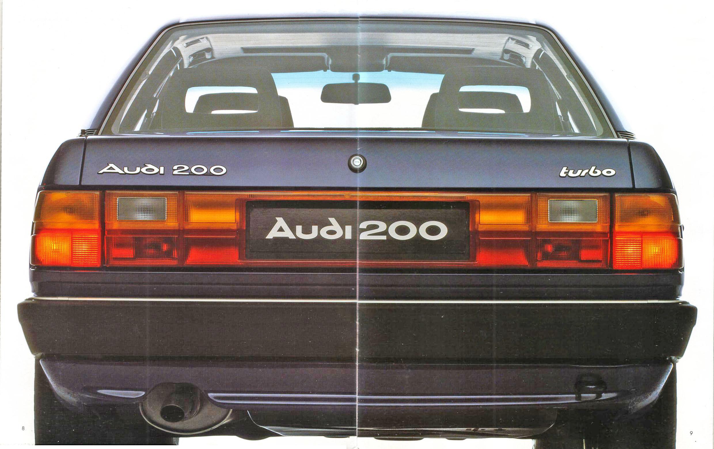 Audi 200 Un Auto De Lujo Archivo De Autos