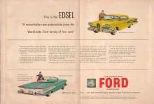 Publicidad Edsel 1957