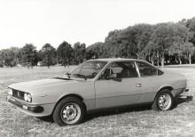 Lancia Beta Cupé 1600 de 1979 este es el auto que aparece en la publicidad de la empresa Personal. La fotografía es de la empresa Fiat Argentina SA.