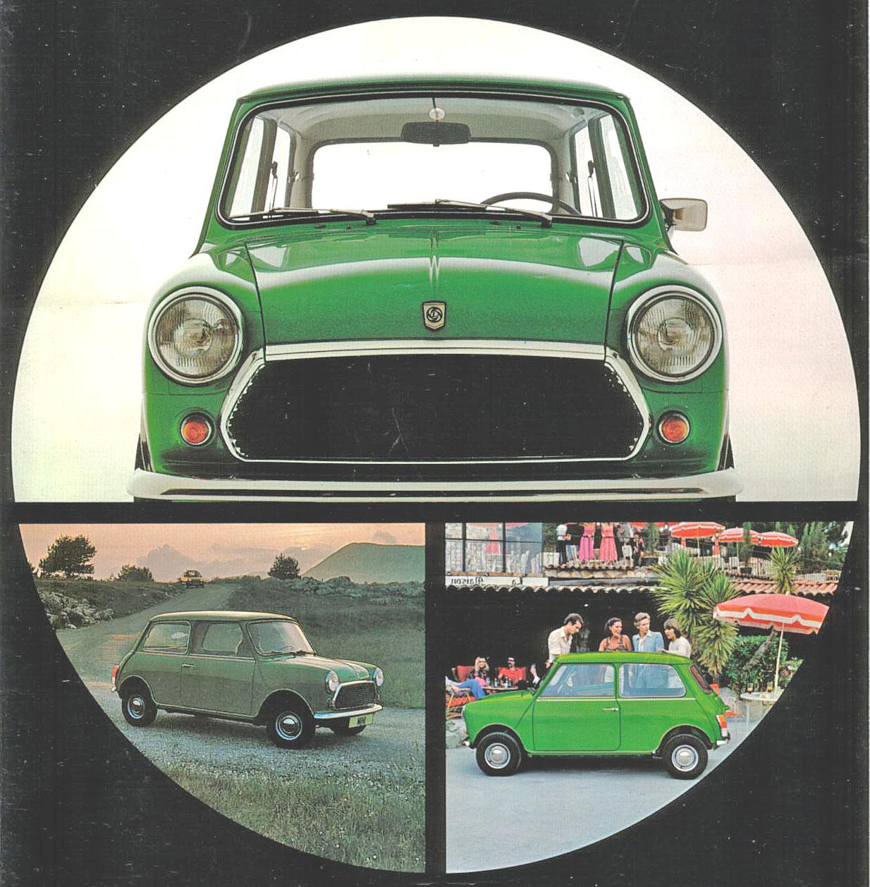 El Mini del año 1980   Archivo de autos