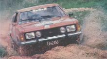 La cupé Ford Taunus GT SP modelo 1980 probada por la revista Corsa. La fotografía es de la revista Corsa del 28 de mayo de 1980.