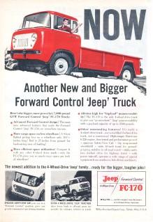 Publicidad Jeep FC-170