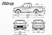 Fiat Fiorino Pick-up 1989