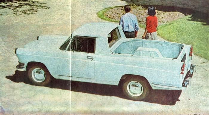 Siam Argenta del año 1963. Fotografía tomada de una publicidad de la revista Parabrisas número 29 de abril de 1963.