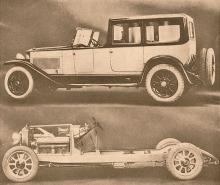 Superfiat dorsay-torpedo del año de 1921 de 12 cilindros.