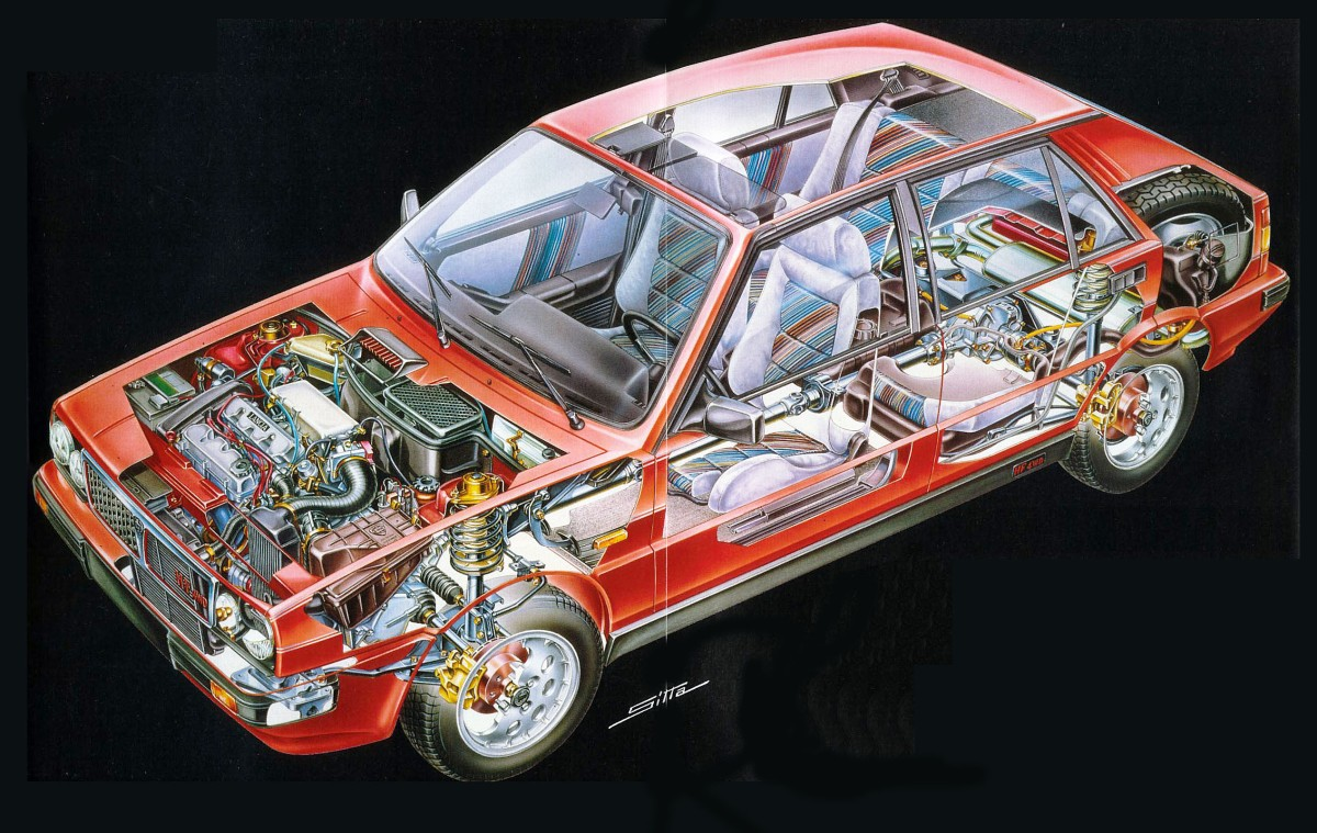 Lancia delta hf de traccin integral archivo de autos vanachro Choice Image