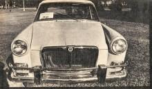 El Magnette 1622 del año 1965 visto de frente en la prueba de la revista Automundo. La fotografía es de la revista Automundo número 4 del 22 de abril de 1965.
