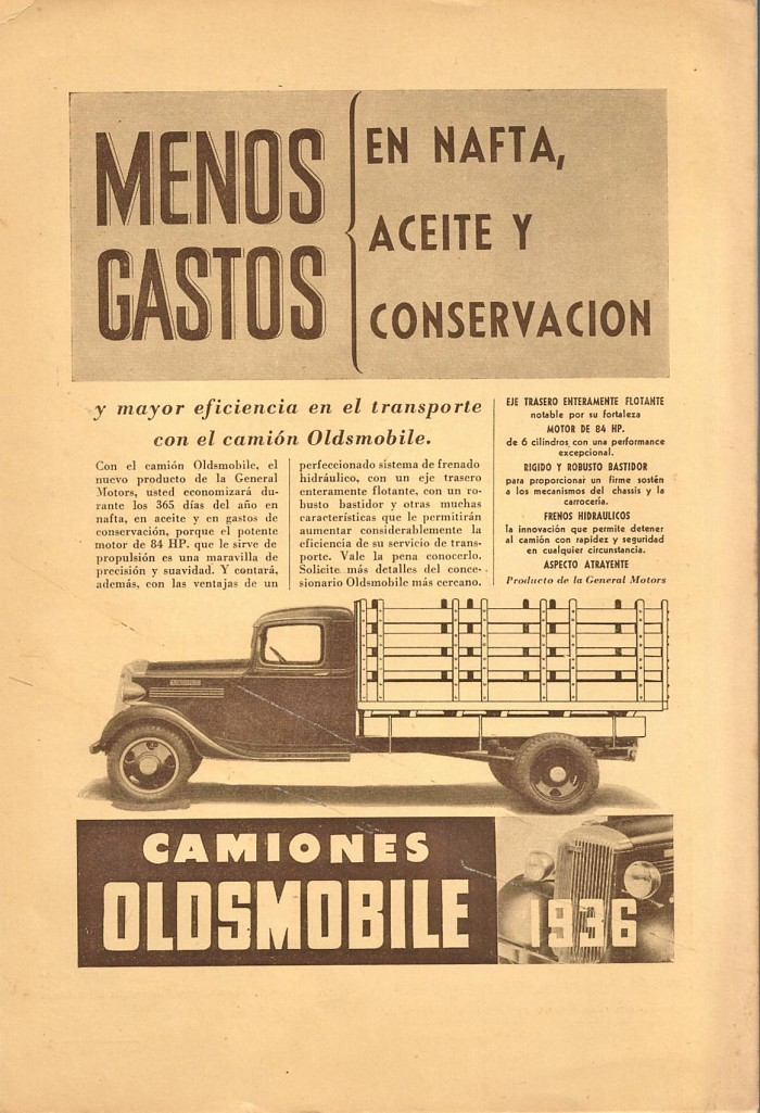 Camión Oldsmobile 1936
