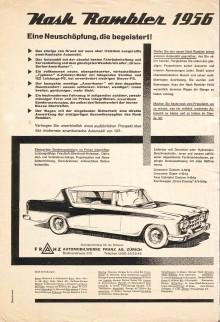 Publicidad Nash Rambler 1956