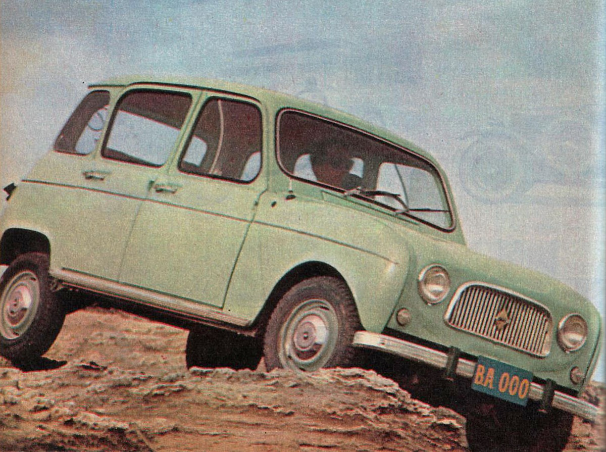 renault 4 l 1963