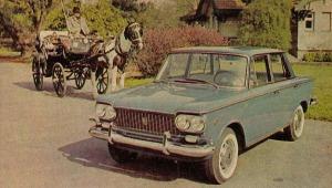 Fiat Gran Clase del año 1963 fabricado en Argentina por Fiat Concórd. La fotografía es de la revista Parabrisas número 40 de marzo de 1964.