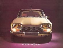 El Citroën GS Birotor del año 1973 visto de frente. La parrilla era diferente a los demás modelos de la gama GS. Fotografía gentileza de Ivan Boiero Sutter.