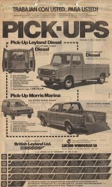 Publicidad Sherpa y Marina 1980