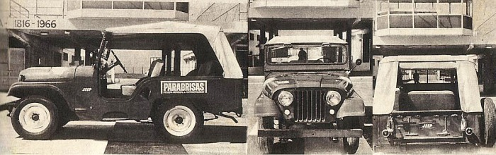 Jeep IKA 1966
