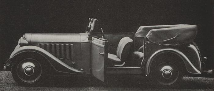 Adler Trumpf 1936