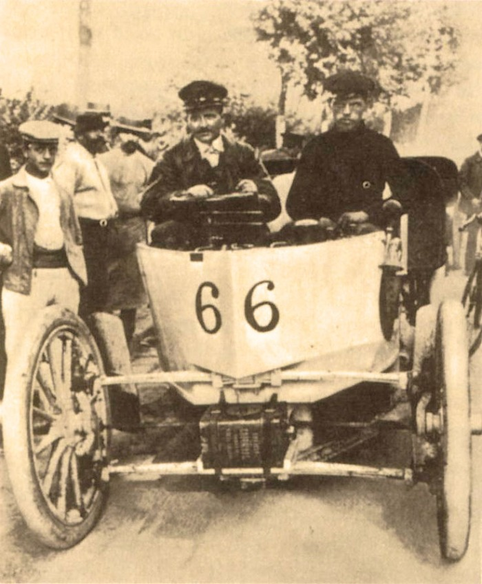 Amédée Bollée Fils Tour de France 1899