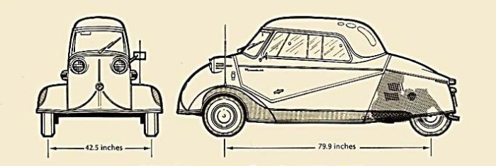 Messerschmitt KR-200 1955