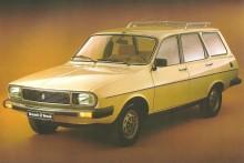 Renault 12 TS Break del año 1983 fabricada por Renault Argentina. La foto es de un folleto de la empresa Renault Argentina.