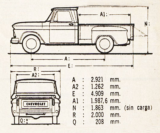 Chevrolet pick-up 1967