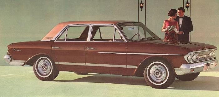 Rambler Ambassador V-8 990 1963