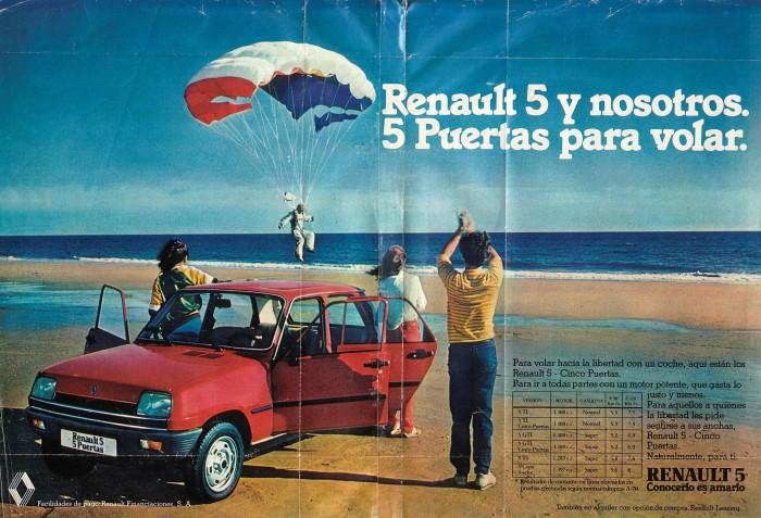 Publicidad Renault 5 5 puertas