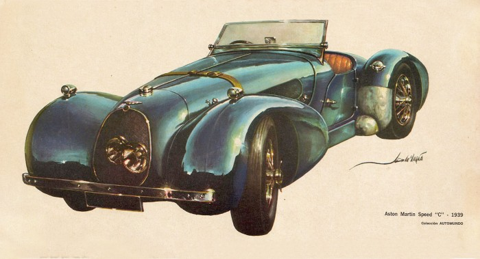 Aston Martin Speed C 1939