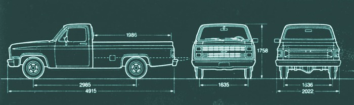 Chevrolet C-10 Custom De Luxe 1985