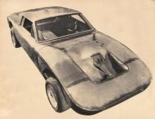 Crespi-Torino TC del año 1967 realizado por Tulio Crespi para el piloto Nasif Estéfano. Fotografía de la revista Automundo número 114 del 11 de julio de 1967.