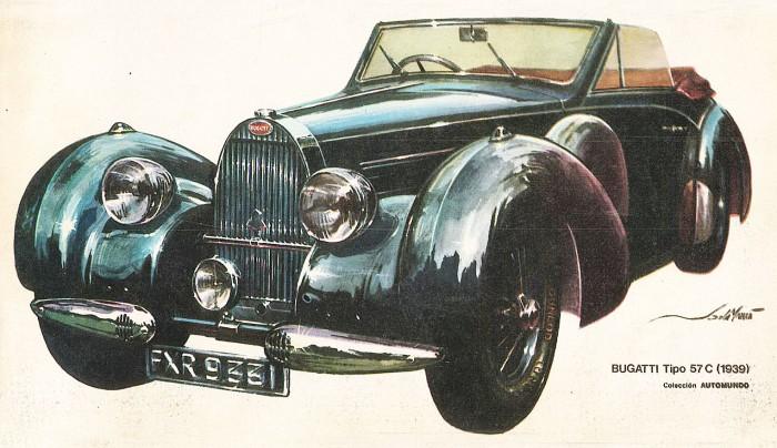 Bugatti Tipo 57 C 1939