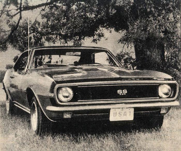 Chevrolet Camaro Super Sport 1967
