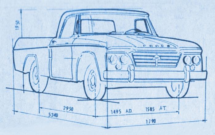 Fargo D-100 1962