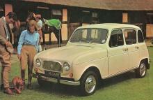 Renault 4 del año 1967 para el mercado de Gran Bretaña.