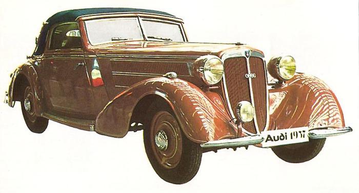 Audi Front 225 1937