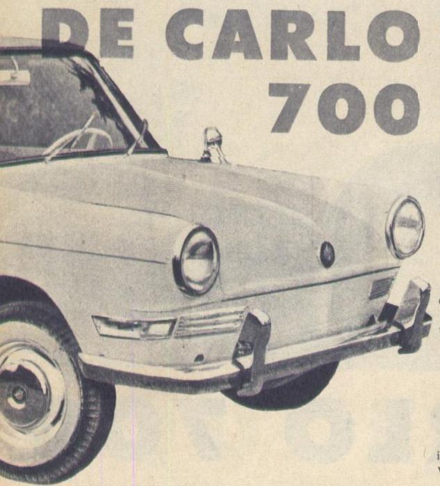 De Carlo 700 01